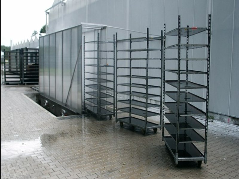 Cart and Trolley Washer for the Fruit and Veg Industry