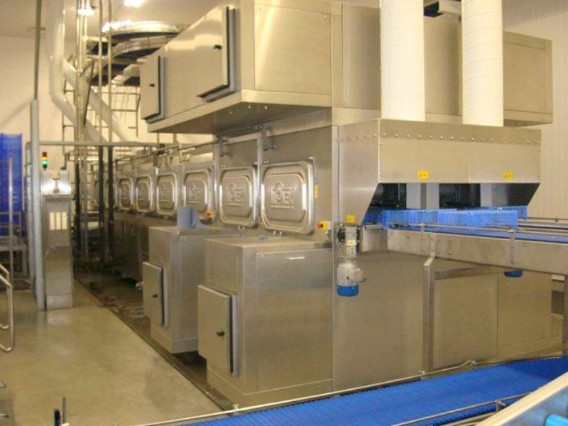 High Capacity Mushroom Crate Washer