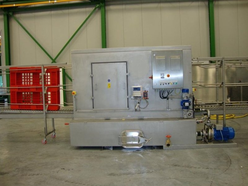 Pallet large tray washer single unit (wash and rinse only)